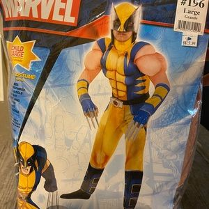 Marvel Wolverine Child costume Large 12/14